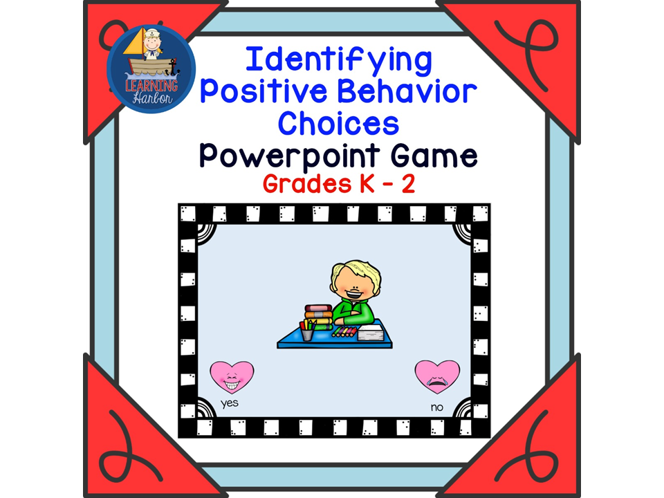 Image link Interactive PowerPoint math games for kinder to second grade by featured teacher author resources from learning Harbor.