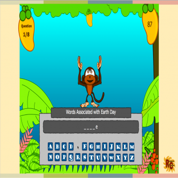 Image of Seasonal Products by R&C  Earth Day Hangman Game G2-5
