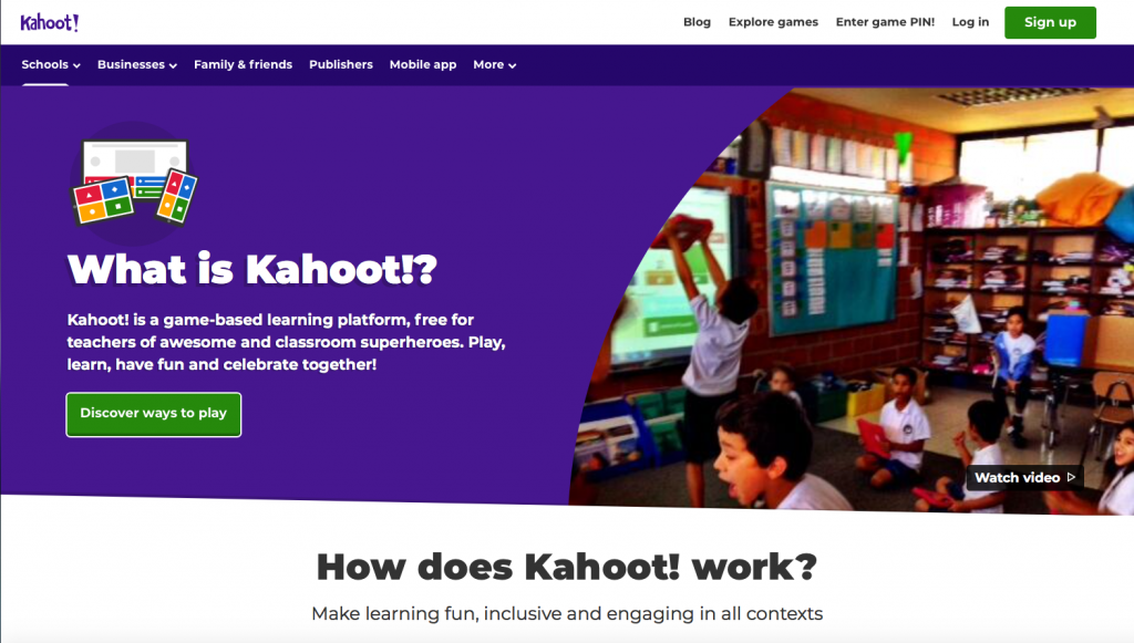 Explains how Kahoot is can be used for Teaching & Learning.