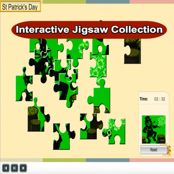 Image of Seasonal Products by R&C  St Patrick's Day Jigsaw Collection G1-4