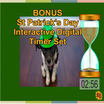 Image of Seasonal Products by R&C St Patrick's Day Bonus Digital Timer Set G5-9