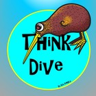 Logo for Think Dive Teacher Blog