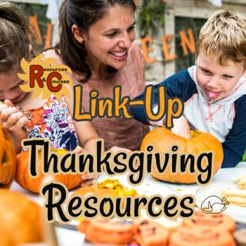 Thanksgiving Teacher Resources LinkUp Parties image