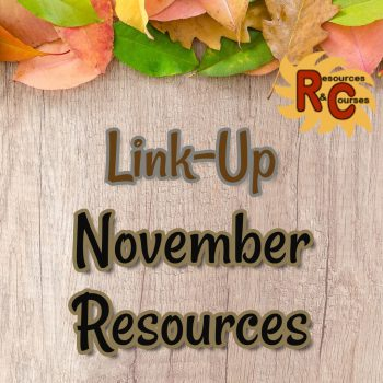 November Teacher Resources LinkUp Parties image