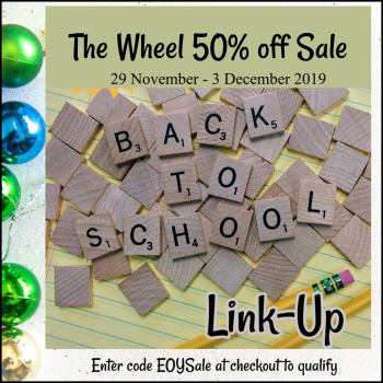 The Wheel 50% off Sale Linkup