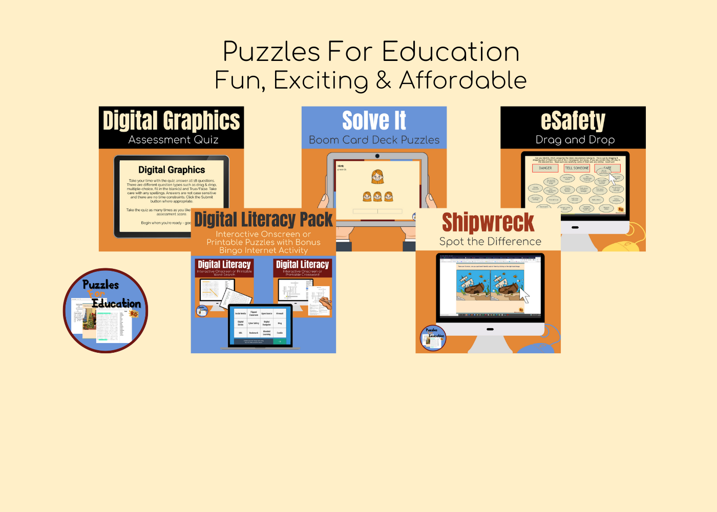 Puzzles For Education - R&C